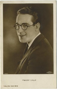 Harold Lloyd Ross Verlag Postcard