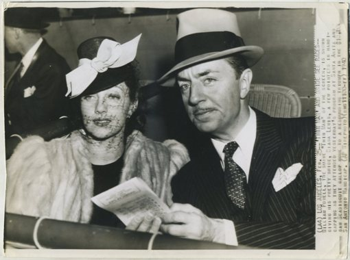 William Powell and Diana Lewis Press Photo