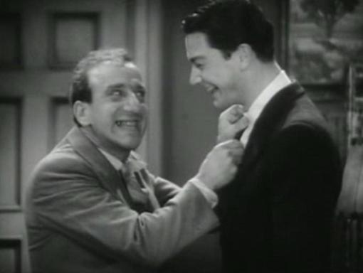 Jimmy Durante and Robert Young