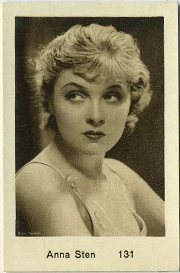 Anna Sten 1932 Monopol Tobacco Card