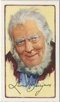 Lionel Barrymore 1935 Tobacco Card
