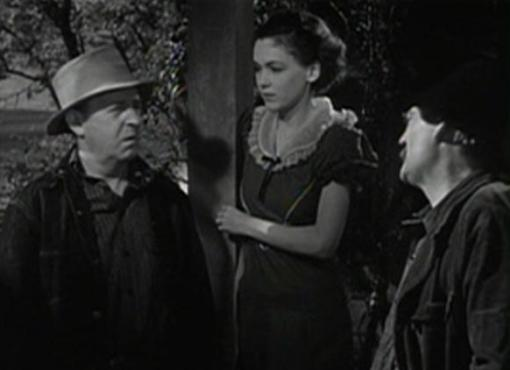 Dudley Digges, Maureen O'Sullivan and Lionel Barrymore