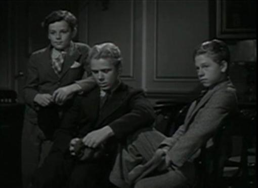 Freddie Bartholomew, Jackie Cooper and Mickey Rooney