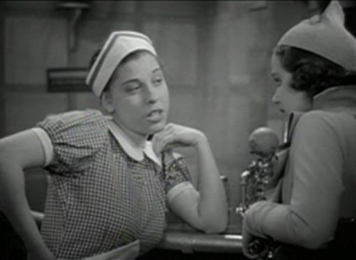 Judy Canova with June Martel