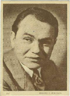 Edward G Robinson 1930s Aguila Card