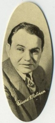 Edward G Robinson 1934 Carreras Tobacco Card