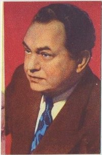 Edward G Robinson 1951 Artisti del Cinema card