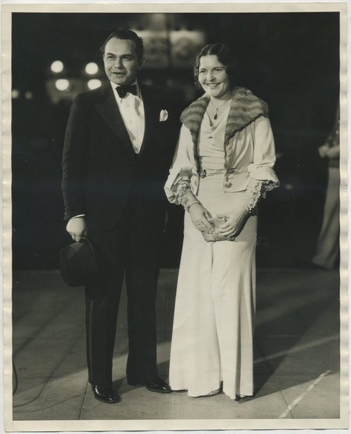 Edward G Robinson and Gladys Lloyd