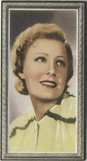 Irene Dunne 1936 Godfrey Phillips Tobacco Card
