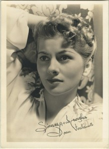 Joan Fontaine Fan Photo