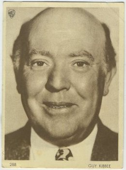 Guy Kibbee 1930s Aguila Card - Click to see more from this set