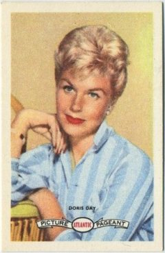 Doris Day 1958 Atlantic Oil Picture Pageant Trading Card