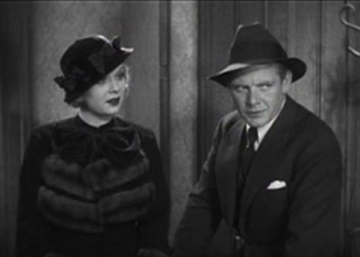 Dorothy Dell and Charles Bickford in Little Miss Marker
