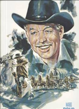 Ward Bond on 1973 John Ford Cowboy Kings Print
