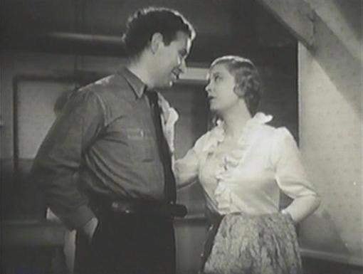 Preston Foster and Dorothy Dell in Wharf Angel