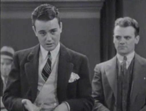 Lew Ayres and James Cagney