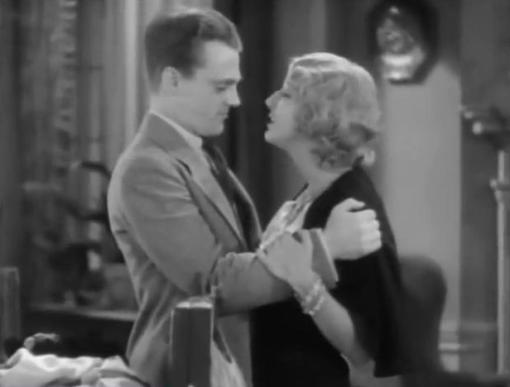 James Cagney and Dorothy Mathews
