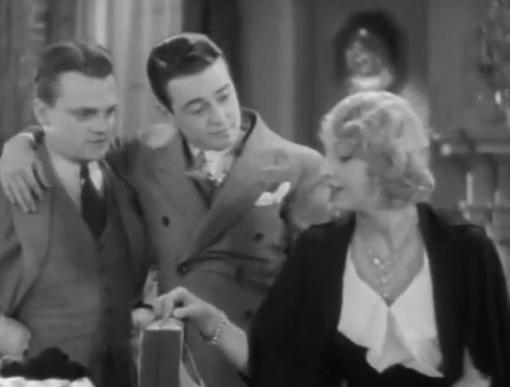 James Cagney, Lew Ayres and Dorothy Mathews
