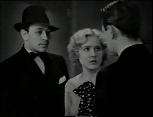 George Raft and Mae Clarke