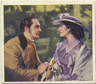 Fredric March and Norma Shearer in The Barretts of Wimpole Street