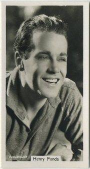 Henry Fonda 1939 RJ Lea Tobacco Card