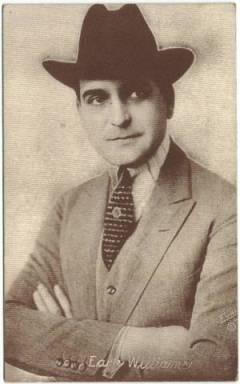 Earle Williams 1910s era vintage Postcard
