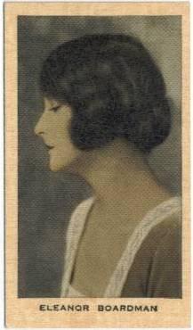 Eleanor Boardman 1928 Wills Film Favourites Tobacco Card