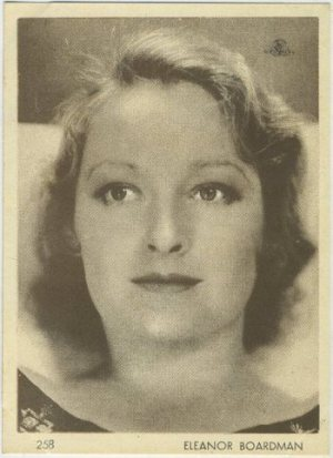 Eleanor Boardman 1930s Aguila Chocolate Premium Card