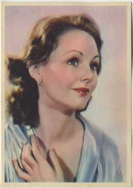 Elizabeth Allan 1936 Nestle Trading Card