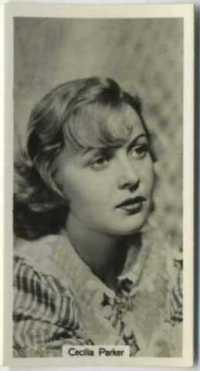 Cecilia Parker 1939 RJ Lea Tobacco Card