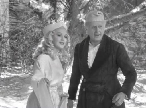 Ann Rutherford and Reginald Owen