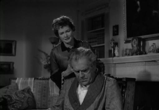 Elizabeth Allan and Boris Karloff