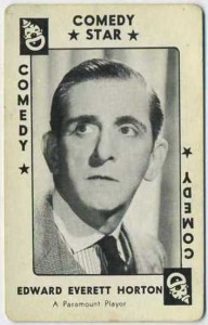 Click to view Edward Everett Horton Site Index