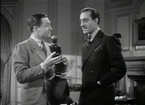 Frank Albertson and Basil Rathbone