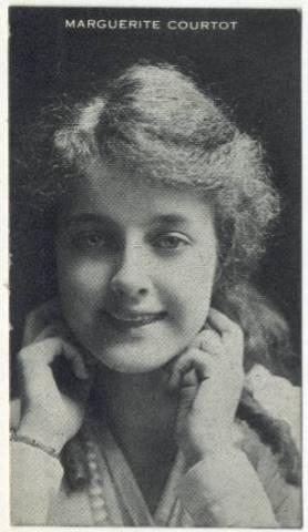 Marguerite Courtot 1910s Piqua Trading Card