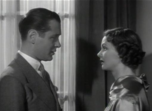 Robert Montgomery and Elizabeth Allan