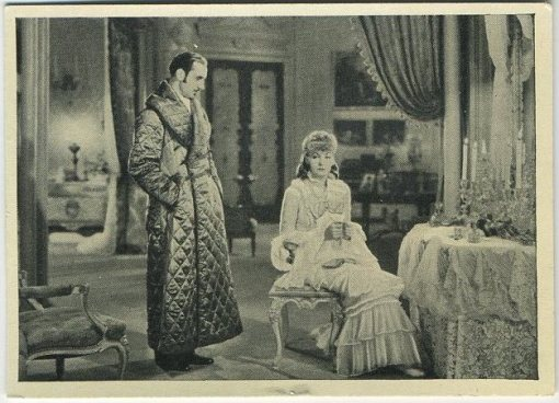 Basil Rathbone Greta Garbo Wix Tobacco Card