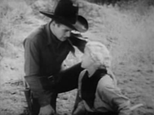 John Wayne and Cecilia Parker