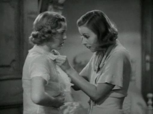 Cecilia Parker and Greta Garbo