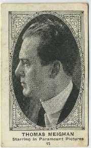 Thomas Meighan 1922 American Caramel Trading Card