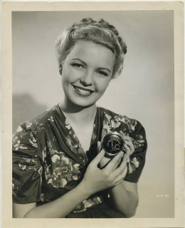 Marjorie Reynolds 1940s Publicity Still Photo