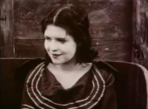 Clara Bow in Down to the Sea in Ships