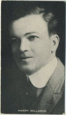 Harry Millarde on a 1910s trading card of anonymous issue
