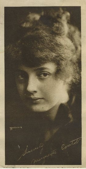 Marguerite Courtot 1910s Water Color Company Paper Premium Photo