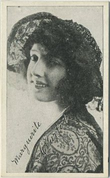 Marguerite Courtot 1917 Kromo Gravure Trading Card