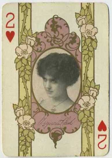 Marguerite Clark - 1908 Playing Card