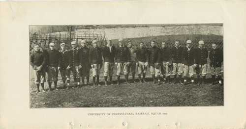 University of Pennsylvania Baseball Squad, 1905