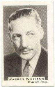 Warren William - 1936 Facchino's Card