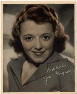 Janet Gaynor - 1935 Color Premium Photo