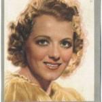 Janet Gaynor 1930s Monopol Tobacco Card
